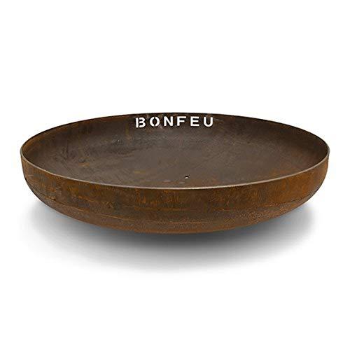 BonFeu Feuerschale Corten-Stahl Rost (Ø 100 cm)
