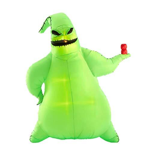 Gemmy Disney 10.5ft Oogie Boogie Halloween Inflatable Indoor/Outdoor Holiday Decoration