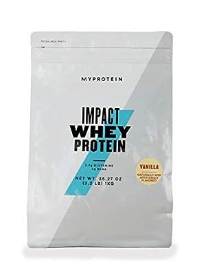 Myprotein Impact Whey Protein, 1 kg, Vanilla