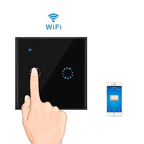 Teepao Interruptor WiFi, Interruptor Tactil Sensor 2 Gang Interruptore