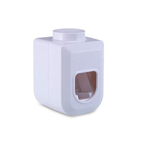 Wandmontage plakken tandpasta dispenser tandpasta knijper tanden wall bathroom door tandpasta,wit,een afmeting