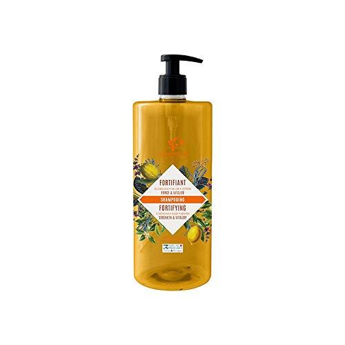 cosmo naturel - Shampooing Fortifiant Quinquina Sauge Citron – 1000ml – laboratoire gravier