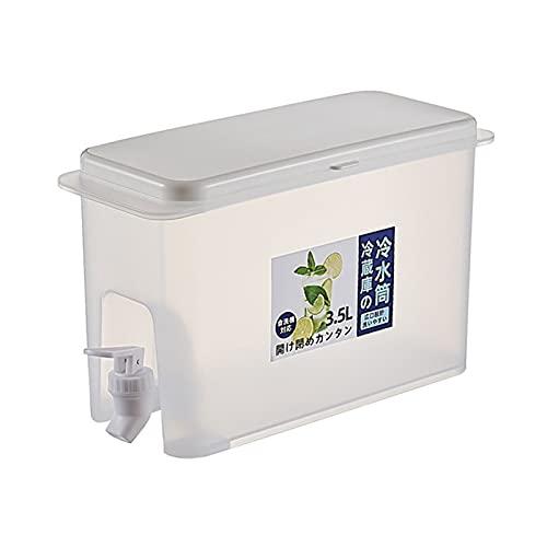 Ganghuo PP 3.5L hielo frío té bebida dispensador con prueba de fugas espiga partido cocina recipiente jarra para el hogar