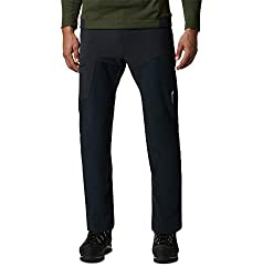 Mountain Hardwear Men's Standard Chockstone Alpine Pant, Dark Storm, Small