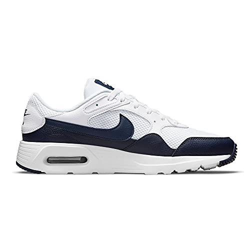 Nike Air MAX SC, Zapatillas para Correr Hombre, White Obsidian White, 46.5 EU
