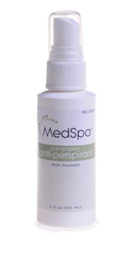 Medline MSC095012H MedSpa Pump Spray Antiperspirant/Deodorant, 2oz.
