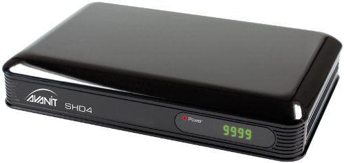 Avanit SHD4  Digitaler Satelliten-Receiver (HDTV, HDMI, USB 2.0) schwarz