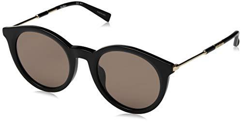 MAX MARA Sonnenbrille MMWANDI Damen Rund Sonnenbrille 50, Schwarz