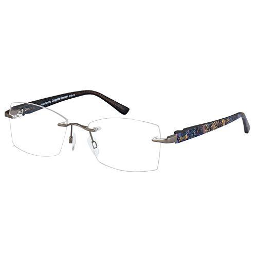 Change Me randlose Brille 2532-2 mit Wechselbügel 8748-12 beige