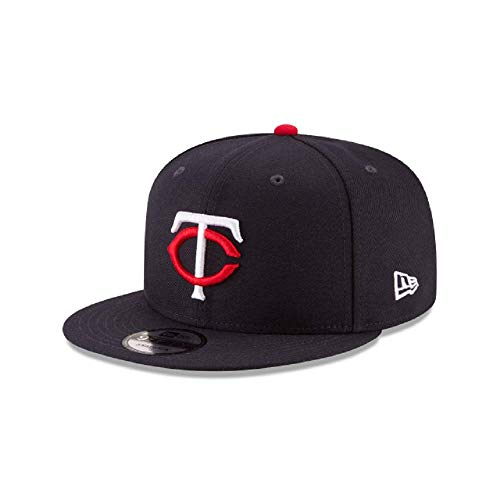 New Era Minnesota Twins Basic Logo MLB Snapback Cap Navy, One Size
