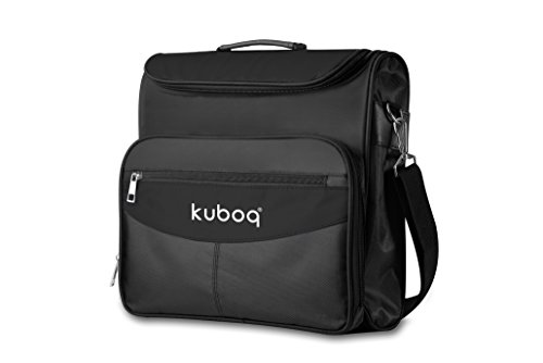 Kuboq Travel Gaming Bag for PlayStation 4 PS4 / PS 3 / Wii/Wii U/Nitendo Switch Bag - Console Controllers Games Cable Slot, Waterproof Shoulder Bag