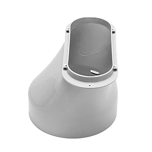 AUTUUCKEE Adaptador de ventana de aire acondicionado portátil Conector de manguera de escape Conector de tubo de campana de aire Baffle Plate Accesorios de aire acondicionado móvil