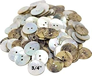 Natural Dark Iridescent Shell 1 Cup Assorted Mixed Size /& Type AB-1 Abalone Shell Buttons Collect or Craft Vintage 225 pcs