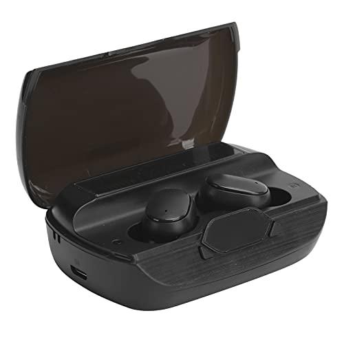 SHYEKYO Auricolari Wireless, Power Bank di Emergenza 5.1 Cuffia per Un'Esperienza Musicale Confortevole di Alta qualità(Nero)