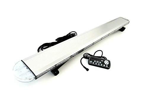 LED Warnbalken Warnleuchte Leuchtbalken Dachbalken 1230 mm mit Fernbedienung