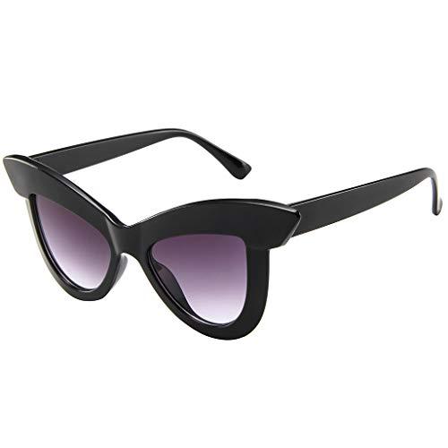 Preisvergleich Produktbild aiyvi Damen Sonnenbrille Cat eye Brille Rahmen Eyewear, Vintage Retro-Stil Cool und Trendy, Reisen und Outdoor Beste Übereinstimmung