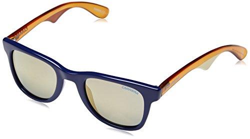 Carrera Unisex adulto 6000 MV 2UX Gafas de sol, Azul (Dark Blue Honey/Bronze Bluee Mirror), 50
