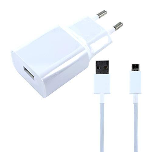 Movilux_ES Cargador Modelo MDY-08-EO (5V/2A) + Cable Micro USB