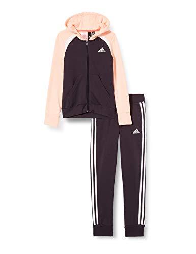 adidas Kinder Cot Ts Trainingsanzug, Nobprp/Hazcor/White, 134