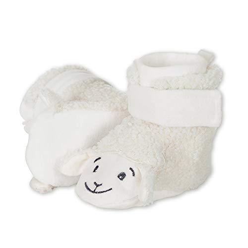 Sterntaler Jungen Unisex Kinder Baby-Schuh Stiefel, Beige (Ecru 908), 16 EU