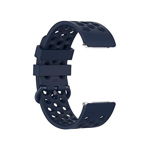 XPC Riemen Ersatzband für Fitbit Versa/Versa Lite Starp Weiches Silikon Wasserdichtes Handgelenk Zubehör Gurt für Fit Bit Versa Armband China Blau