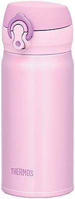 サーモス 水筒 真空断熱ケータイマグ 【ワンタッチオープンタイプ】 0.35L パウダーピンク JNL-350 PWP