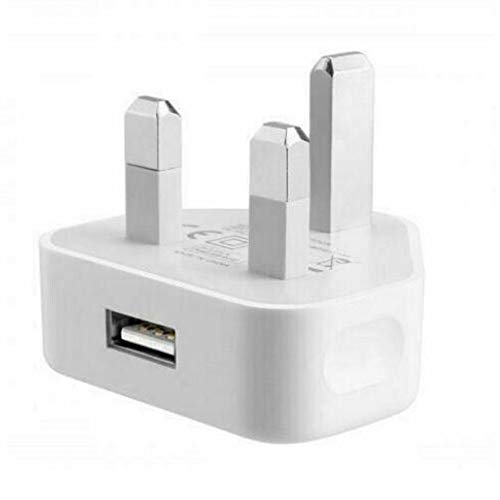 Cargador de Pared USB Reino Unido Red eléctrica de Pared Adaptador de...