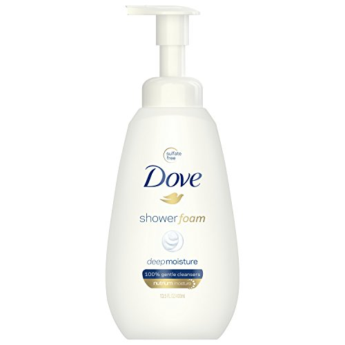 Dove Shower Foam, Deep Moisture, 13.5 oz