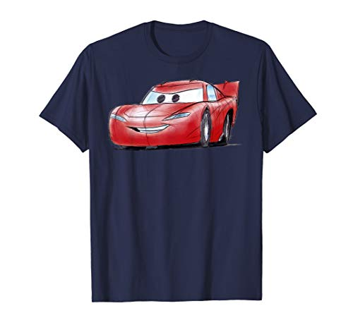 Disney Pixar Cars Lightning McQueen Profile Graphic T-Shirt