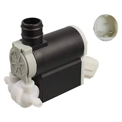 febi bilstein 107382 Waschwasserpumpe für Scheibenreinigungsanlage, mit Dichtring, 1 Stück