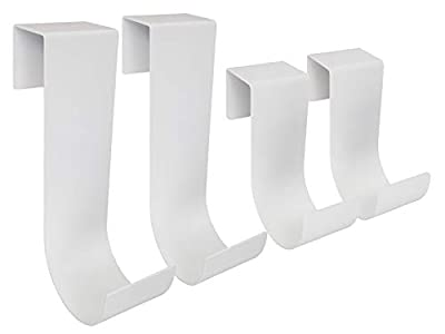 MIDE Products 13SET-W Fence Hooks, White