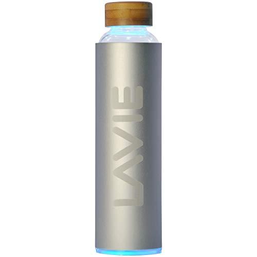 LaVie 2GO (16.9 fl oz/0.5 L) Innovative Portable Tap Water Purifier with Aluminum Case - Purify...