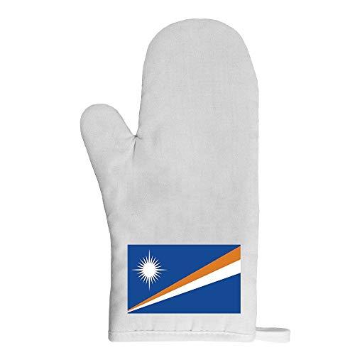 Mygoodprice Ofenhandschuh Topflappen Flagge Marshallinseln