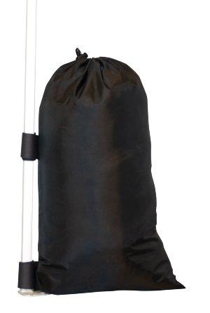 Sand Bag Kit (pack of 4 bags) MPGO-SBK-A 4Pc Gazebo Sandbag Weight Set for Anchoring Gazebos, Tents, Sun Shades, Trampolines & Childrens Garden Toys, Leg Sandbag, Weighted Feet For Gazebo, Tent, Marquee Anchors, Empty Sandbag Weights, 56x21cm