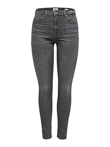 ONLY Female Skinny Fit Jeans ONLpaola HW M30Grey Denim
