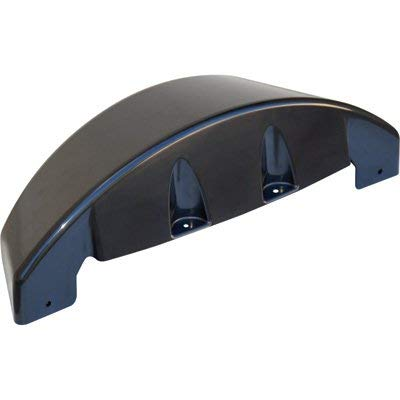 Tow Zone Single ABS Plastic Brackletless Fender - Black, Paintable, fits 8in.-12in. Tires, 26in.L x 7 1/2in.W x 8 1/3in.H, Model Number 86861