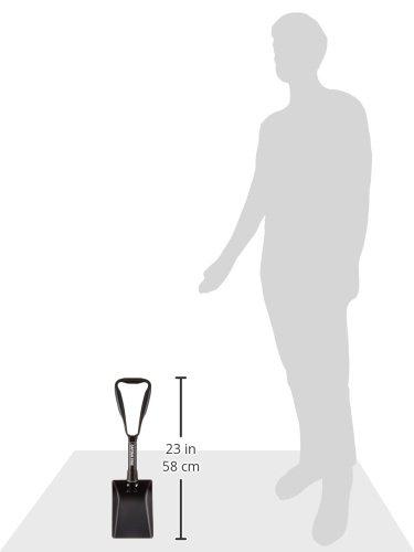 CAPTAINSTAG(キャプテンスタッグ)『角型スチールフォールディングスコップ(バッグ付)(UA-4501)』