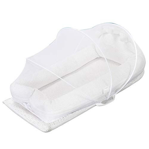 Why Should You Buy Baby Travel Cushion Breathable Hypoallergenic Multifunctional Baby Nest Great for...