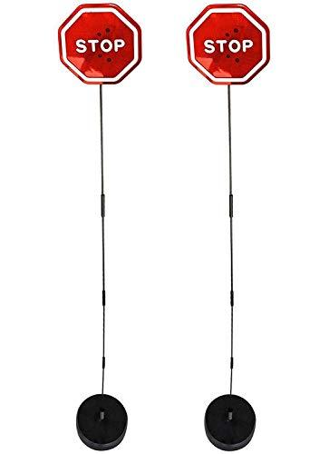 Walter Drake Flashing LED Stop Sign Garage Parking Assistant System (2 Pack)