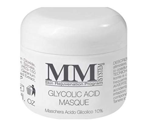 MM Glicolic Mask Maschera Viso Antiaging all' Acido Glicolico al 10%