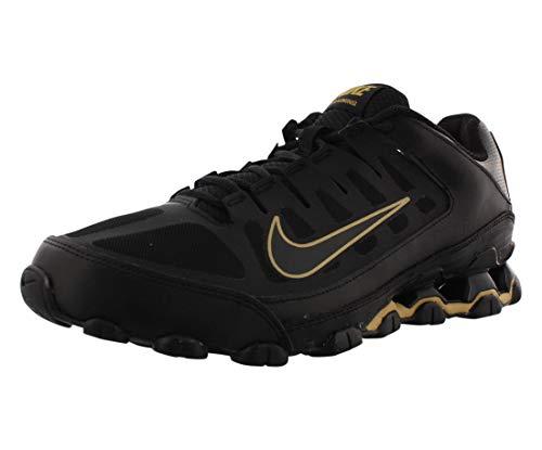 Nike Herren Reax 8 Tr Mesh Fitnessschuhe, Mehrfarbig (Black/Metallic Gold/Black 020), 45.5 EU