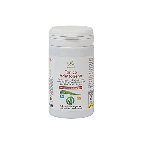 Benessence - Vitamina D, Zinc, Eleuterococo y Aloe Vera - 60 cápsulas