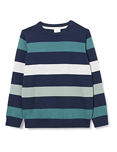 ZIPPY ZB0201_488_10 Suéter pulóver, Azul, Regular Chicos