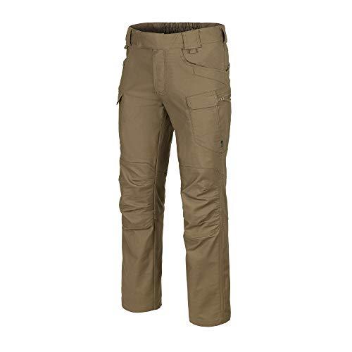Helikon Hombre UTP Pantalones Algodon Poli Canvas Coyote tamaño 32W / 34L