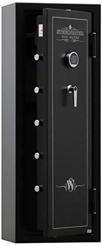 SWSD16GUN-EMP 60 Minute Fireproof 16 Long Gun Safe with EMP Lock