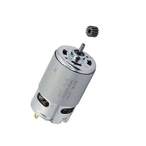 HUYANJUN, 14.4V/14 Teeth Motor Engine For Bosch GSR14.4-2 Cordless Electric Screwdriver Generator Parts & Accessories