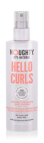 Noughty Haircare Hello Curls Define and Shape Curl Primer, 200 ml