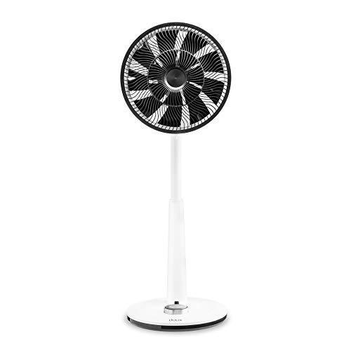 Duux Whisper (ventilator met vleugels, voor thuis, wit, hal, 760-950 mm, draaibaar, 12 h), 22 W, 13 decibel, kunststof, 26 snelheidsniveaus