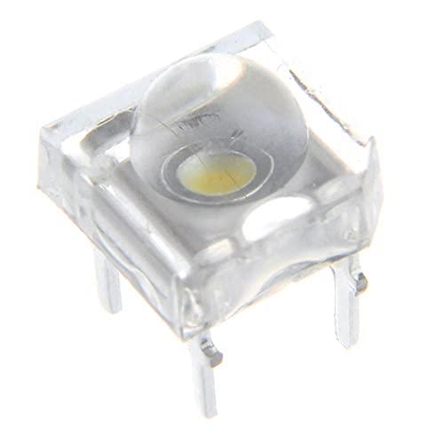 NHDY Dix 0PCS 5MM DC2V Cycle Transparent Top Top Lentille Crystalisez l'ampoule Émise de Couleur Rouge LED Diode DIY Lampe 0913