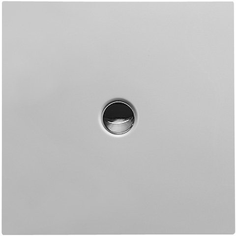 Duravit Bodenbündige Duschwanne 80x80cm Quadrat, weiß, 720079000000000